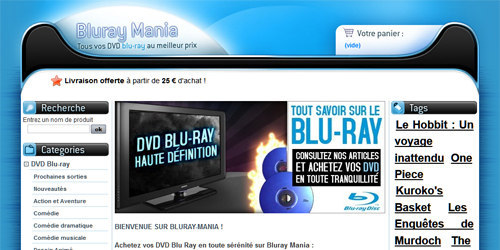 Coffrets et films blu ray 3D